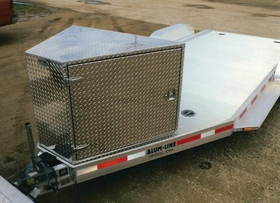 Open V-Front Heavy Duty Utility Trailers